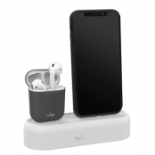 Puro Laddbas till iPhone och AirPods - Grå