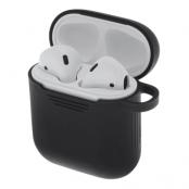 Silikonskal för Apple Airpods - Svart