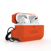 UAG Apple Airpods Pro Silicone Case - Orange / Black
