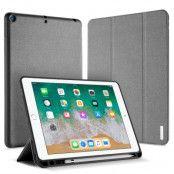 DUX DUCIS Domo Series Fodral till iPad 9.7 Tyg TPU Tri-fold Grå