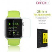 Amorus skärmskydd i härdat glas till Apple Watch 38mm