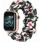 Armband Scrunchie Apple Watch 1/2/3/4/5/6/SE 38/40mm Liljeblomma