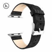 Hoco Watchband i Äkta Läder till Apple Watch 42mm - Svart