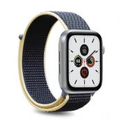 Puro Apple Watch Band Nylon 42-44mm S/M & M/L - Ljusblå