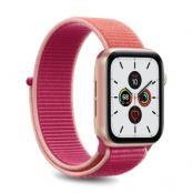 Puro Apple Watch Nylon Band 42-44mm S/M & M/L - Rosa