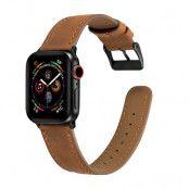 Retro Armband Apple Watch 42/44 mm Cognac
