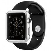 Spigen Thin Fit Skal till Apple Watch 42mm - Satin Silver
