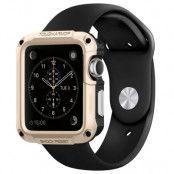 Spigen Tough Armor Skal till Apple Watch 42mm - Champagne Gold
