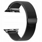 Tech-Protect Milaneseband Apple Watch 1/2/3/4/5 (38 / 40Mm) Svart