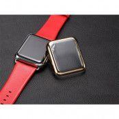 Torras Skal med Skärmskydd till Apple Watch 42mm - Guld