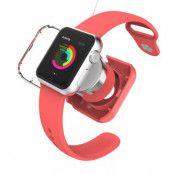 VCOER Skyddande laddningsskal till Apple Watch 38mm / 42mm - Röd