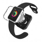 VCOER Skyddande laddningsskal till Apple Watch 38mm / 42mm - Svart