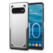 Rugged Armor Skal till Samsung Galaxy S10 - Silver