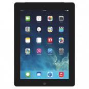 Begagnad Apple iPad 4 16GB Wifi Svart i Toppskick Klass A