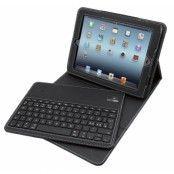 ISOTECH Portfolio trådlöst tangentbord till iPad 2/3/4 (nordisk layout) - Svart