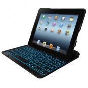 ZAGGkeys ProFolio+ Bluetooth tangentbord för iPad 2/3/4 med Nordisk Layout