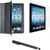 CellularLine Starter kit för iPad 2/3/4, fodral, skärmskydd samt penna
