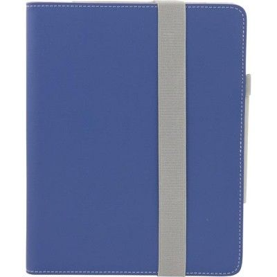 EPZI konstläderfodral för iPad 2/3/4, mörkblå