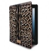 Just Cavalli Booklet Cover iPad 2/3/4 Leopard Mohak