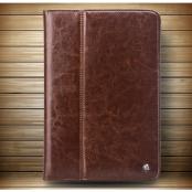 Qialino Äkta Läder Fodral till Apple iPad Air 2 - Brun