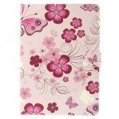 Fodral till Apple iPad Air - Fjärilar & Blommor