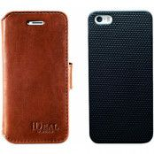 iDeal of Sweden Slim Magnet Wallet (iPhone 5/5S/SE) - Brun