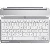 Belkin QODE Thin Type, tangentbord- iPad Air, BT, magnet, alu, silver
