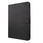 """DELTACO iPad läderfodral för iPad Air 10.5"""" och Pro 10.5"""" - Svart"""