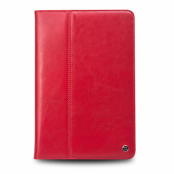 Fodral till iPad Air 2 i äkta läder - Röd