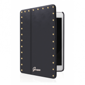 Guess iPad Air Booklet Case Studded - Svart