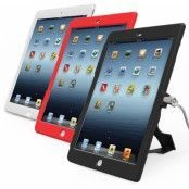 Maclocks - Lås & ställbart skal (iPad Air) - Röd