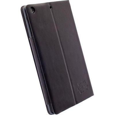Krusell Kiruna fodral i äkta läder för iPad mini/2/3, svart