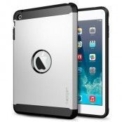 SPIGEN Tough Armor Skal till Apple iPad Mini / Mini 2 Retina (Satin Silver)