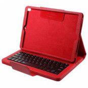 iPad Pro 10.5 Fodral med Bluetooth-tangentbord - Röd