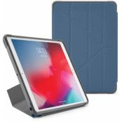 Pipetto Origami Shield (iPad Pro 10,5/Air 3) - Blå