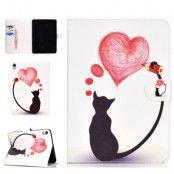 Trolsk Cute Wallet Cover - Drawing Cat (iPad Pro 11)