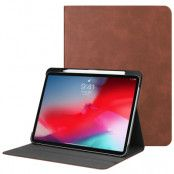 Leather Case Pencil Holder iPad Pro 11 Brown