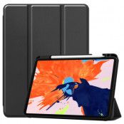 Fodral Tri-fold med Pencil-hållare iPad Pro 12.9 2018/2020 svart