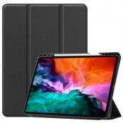 Fodral Tri-fold med Pencil-hållare iPad Pro 12.9 2021 svart