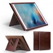 Qialino Äkta Läder Dual Kick-Stand Fodral till Apple iPad Pro - Brun