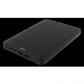 Deltaco Powerbank 20000mAh, USB-C, Lightning - Svart