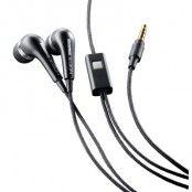 MOMO in-ear öronsnäckor, 3,5mm stereo, svart