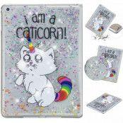 Quicksand Glitter Caticorn Case (iPad)
