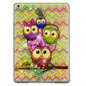 Quicksand Glitter Lovely Owls Case (iPad)