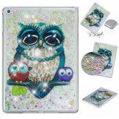 Quicksand Glitter Owls Case (iPad)