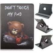 Rotating Fodral till Apple iPad Pro 9.7 - Bear with Saw