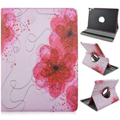 Rotating Fodral till Apple iPad Pro 9.7 - Rosa Blommor
