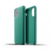 Mujjo Full Leather Case till iPhone 11 Pro Max - Alpinegrön