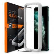 SPIGEN Härdat Glas Alm Fc iPhone 11 Pro Max Svart