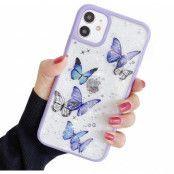 Bling Star Butterfly Skal till iPhone 11 - Lila